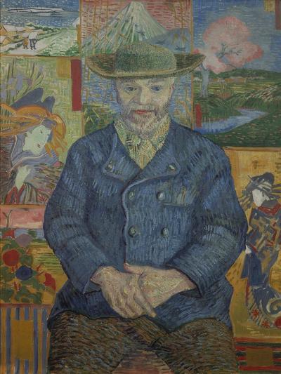 Portrait of Pere Tanguy, 1887-Vincent van Gogh-Giclee Print