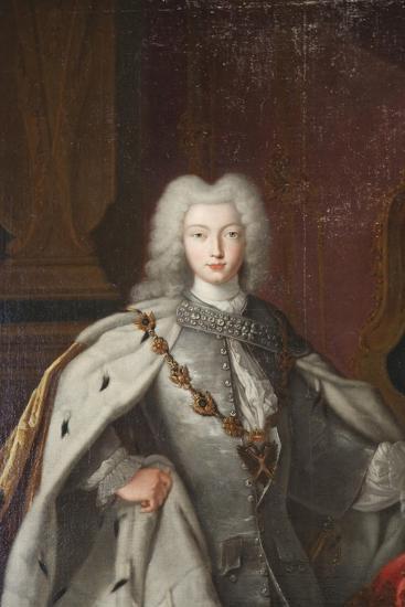 Portrait of Peter II, C1728--Giclee Print
