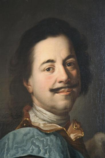 Portrait of Peter the Great, First Half of 19th Century--Giclee Print