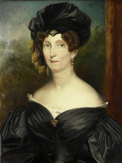 Portrait of Petronella De Lange, Wife of Theodorus Frederik Van Capellen-Jacob Joseph Eeckhout-Art Print