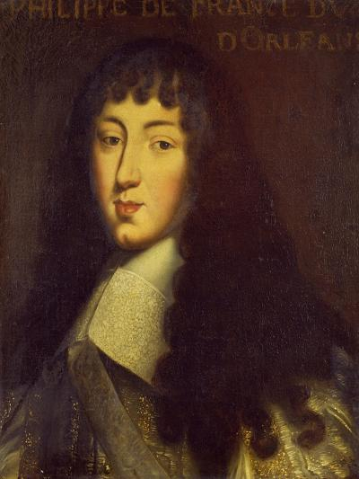 Portrait of Philippe de France, Brother of Louis XIV, French School, circa 1665--Giclee Print