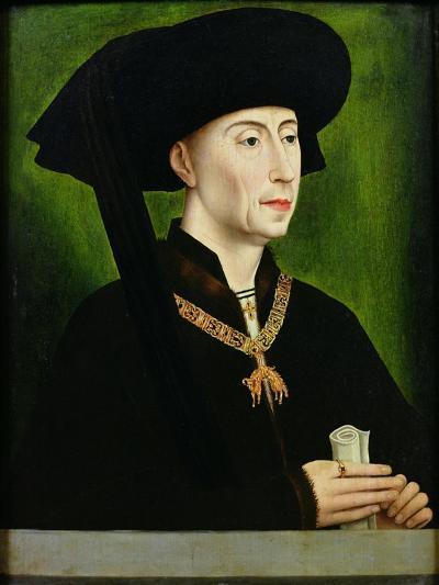 Portrait of Philippe Le Bon (1396-1467) Duc De Bourgogne-Rogier van der Weyden-Giclee Print