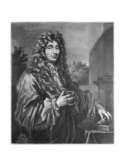 Portrait of Physicist Christiaan Huygens--Giclee Print