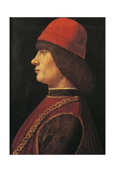 Portrait of Pico Della Mirandola--Giclee Print
