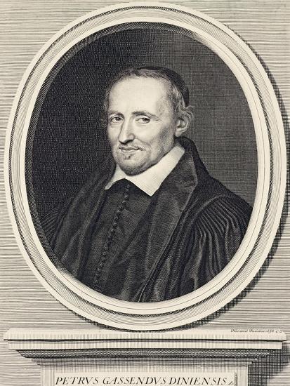 Portrait of Pierre Gassend Called Gassendi (Champtercier--Giclee Print