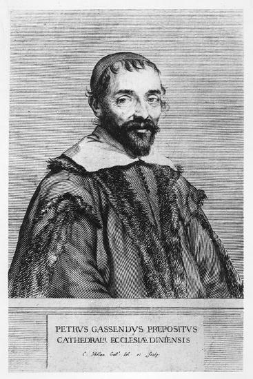Portrait of Pierre Gassendi-Claude Mellan-Giclee Print