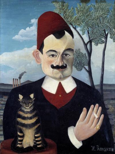 Portrait of Pierre Loti by Le Douanier Rousseau--Giclee Print