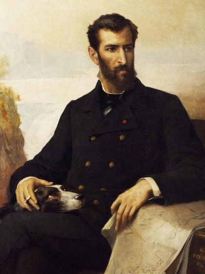 Portrait of Pierre Paul Francois Camille Savorgnan De Brazza--Giclee Print