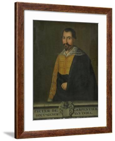 Portrait of Pieter De Carpentier, Governor-General of the Dutch East Indies--Framed Art Print