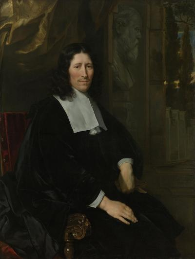 Portrait of Pieter De La Court-Abraham van den Tempel-Art Print