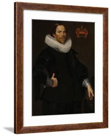 Portrait of Pieter Van Son-Nicolaes Eliasz Pickenoy-Framed Art Print