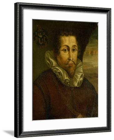 Portrait of Pieter Willemsz Verhoeff--Framed Art Print