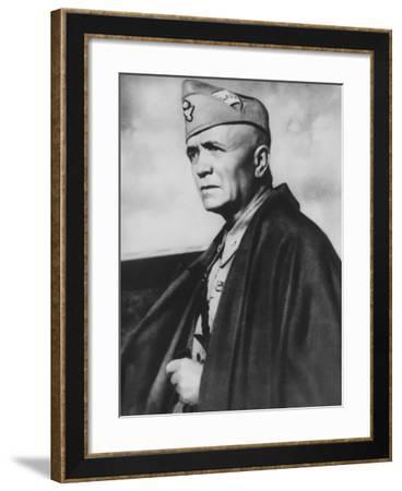 Portrait of Pietro Badoglio--Framed Photographic Print