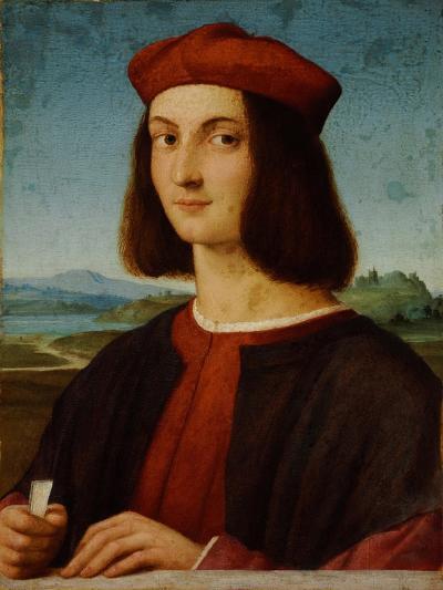 Portrait of Pietro Bembo-Raphael-Giclee Print