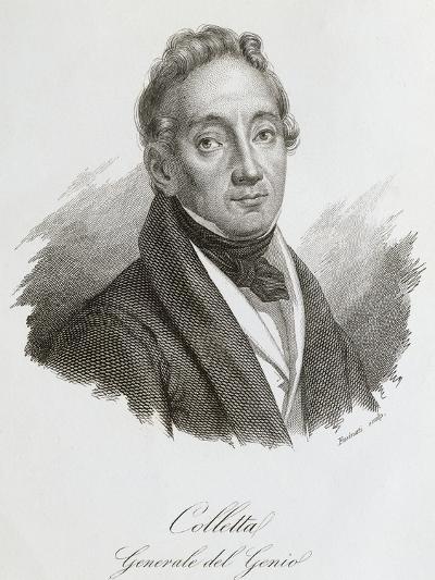 Portrait of Pietro Colletta--Giclee Print