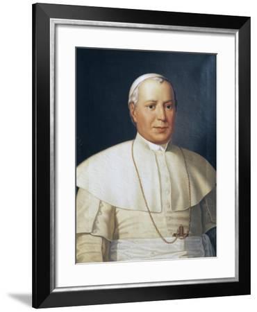 Portrait of Pius IX--Framed Giclee Print
