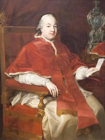 Portrait of Pius Vi, Pompeo Batoni, 1708-1787, Vatican Museums, Rome, Italy--Giclee Print