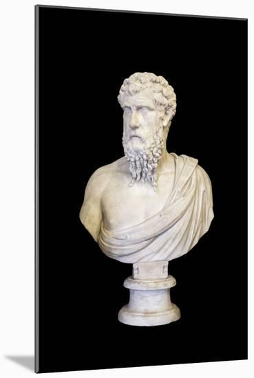 Portrait of Plato (marble)-Roman-Mounted Photographic Print