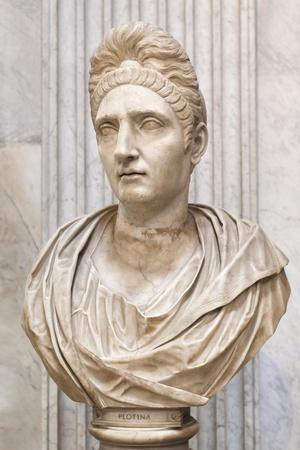 Portrait of Plotinia, Second Century Ad, Vatican Museum, Rome, Italy--Giclee Print