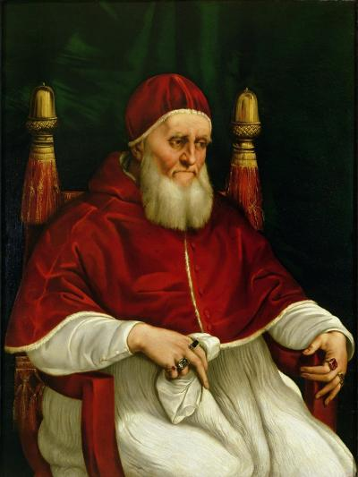 Portrait of Pope Julius II-Raphael-Giclee Print