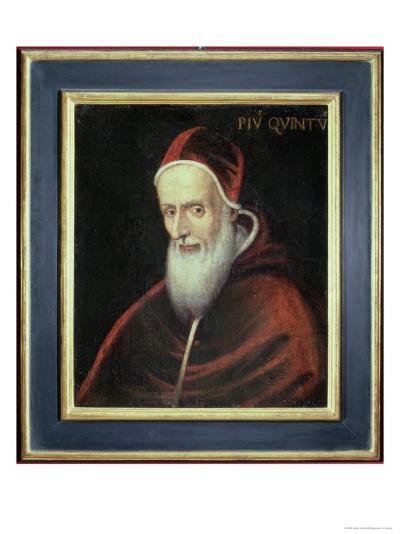 Portrait of Pope Pius V--Giclee Print