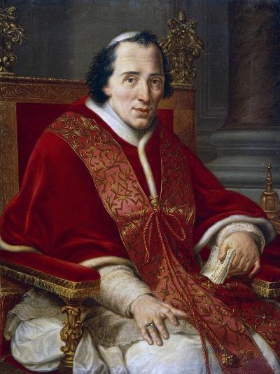 Portrait of Pope Pius VII--Giclee Print