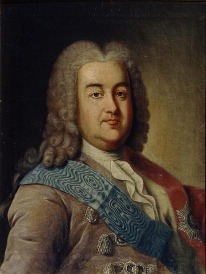 Portrait of Prince Alexey Mikhailovich Cherkassky, 1760S-Ivan Petrovich Argunov-Giclee Print
