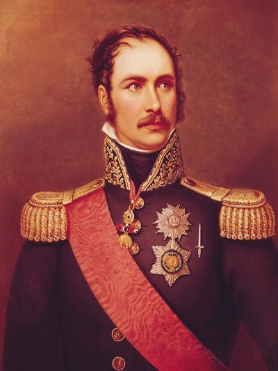 Portrait of Prince Eugene de Beauharnais Viceroy of Italy and Duke of Leuchtenberg-Jacques-Louis David-Giclee Print