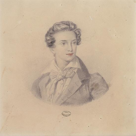 Portrait of Prince Fritz Baciocchi--Giclee Print