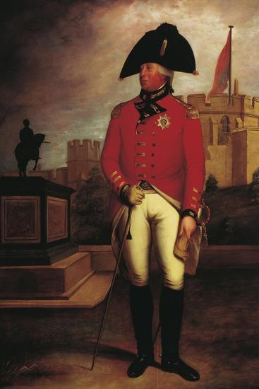 Portrait of Prince George William of Great Britain--Giclee Print
