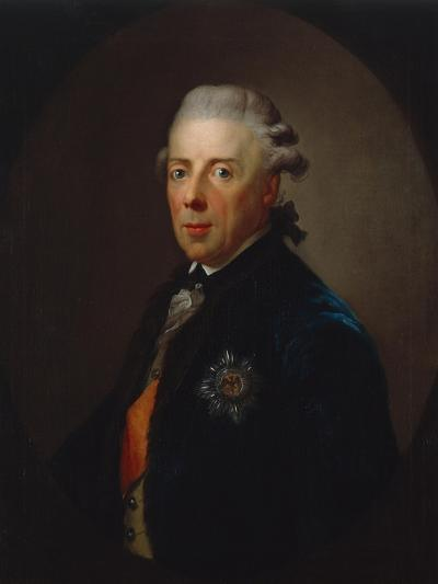 Portrait of Prince Heinrich of Prussia, after 1785-Anton Graff-Giclee Print