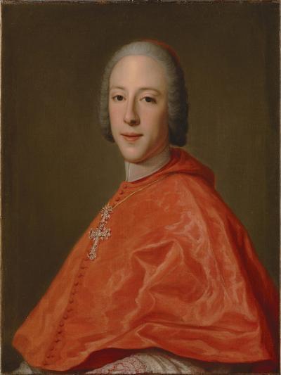 Portrait of Prince Henry, Cardinal York-Domenico Corvi-Giclee Print