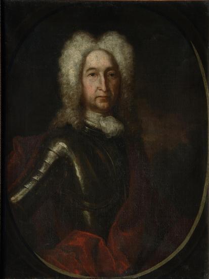 Portrait of Prince Ivan Alexeyevich Golitsyn (1658-172), 1728-Andrei Matveyevich Matveyev-Giclee Print