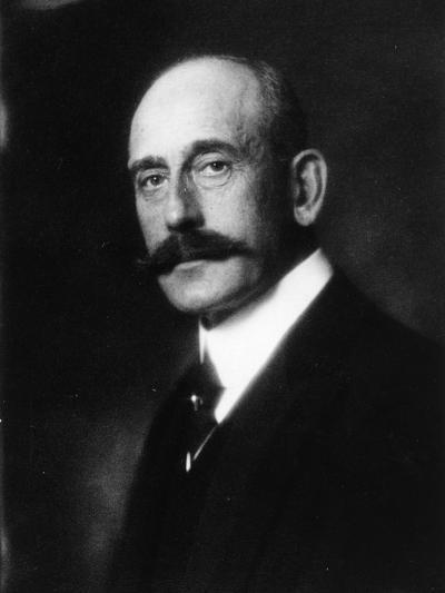 Portrait of Prince Maximilian of Baden--Photographic Print