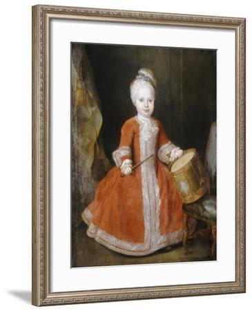Portrait of Prince Xavier de Saxe-Louis de Silvestre-Framed Giclee Print