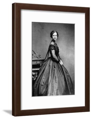Portrait of Princess Dagmar of Denmark, C1865-C1866--Framed Giclee Print