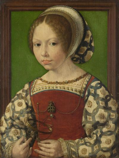 Portrait of Princess Dorothea of Denmark (1520-158), Ca 1530-Jan Gossaert-Giclee Print