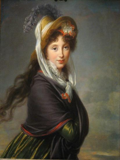 Portrait of Princess Irina Ivanovna Vorontsova, Née Izmaylova (1768-184), Ca 1797-Marie Louise Elisabeth Vig?e-Lebrun-Giclee Print
