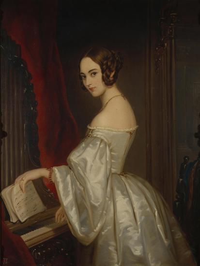 Portrait of Princess Maria Ivanovna Kochubey, Née Baryatinskaya (1818-184)-Christina Robertson-Giclee Print
