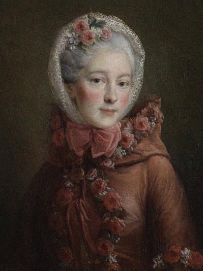 Portrait of Princess Natalya Petrovna Galitzine (1741-183), 1760-Fran?ois-Hubert Drouais-Giclee Print