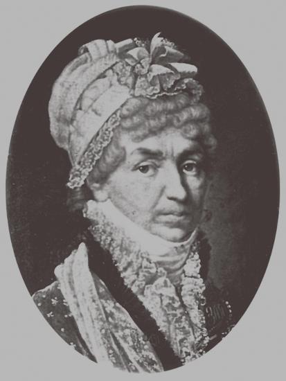 Portrait of Princess Natalya Petrovna Galitzine (1741-183), 1870-Andrey Mikhaylovich Lushev-Giclee Print
