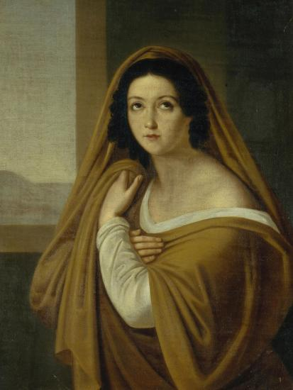 Portrait of Princess Yevdokia (Avdoty) Ivanovna Golitsyna, Née Izmaylova (1794-189), 1810S-Alexei Yegorovich Yegorov-Giclee Print