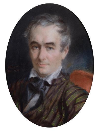 Portrait of Prosper Merimee (1803-70) 1853-Simon Jaques Rochard-Giclee Print