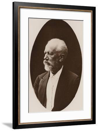Portrait of Pyotr Ilyich Tchaikovsky--Framed Photographic Print