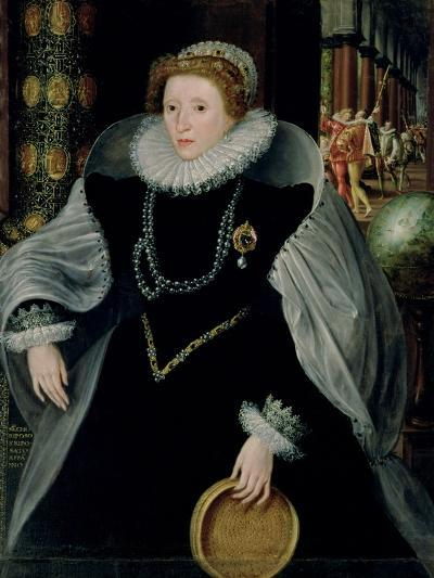 Portrait of Queen Elizabeth I-Or Zuccaro, Federico Zuccari-Giclee Print