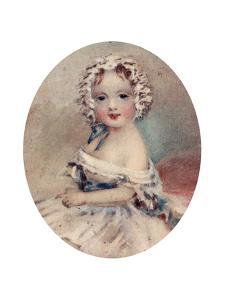Portrait of Queen Victoria as a Child, 19th Century