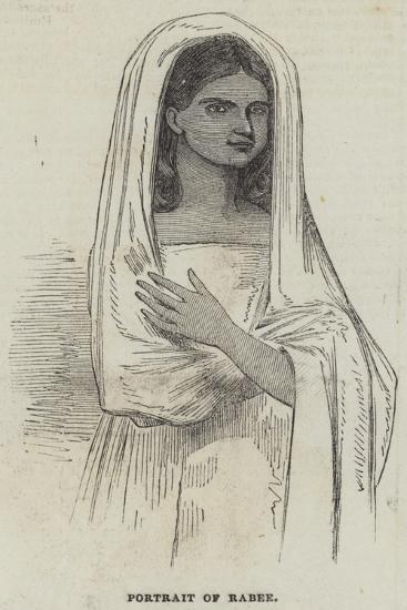 Portrait of Rabee--Giclee Print