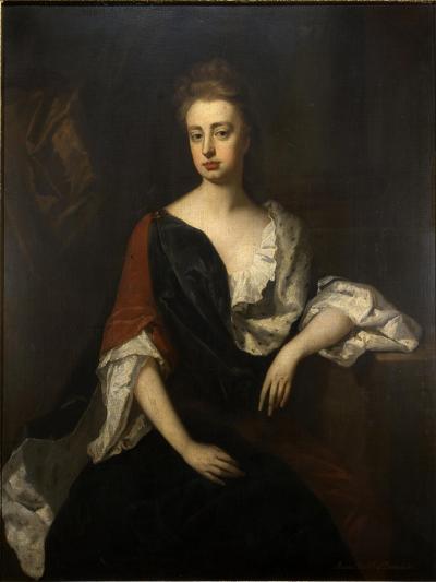 Portrait of Rachel Russell, Duchess of Devonshire, C.1694-1700-Michael Dahl-Giclee Print