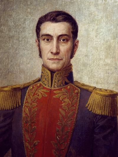 Portrait of Rafael Urdaneta--Giclee Print