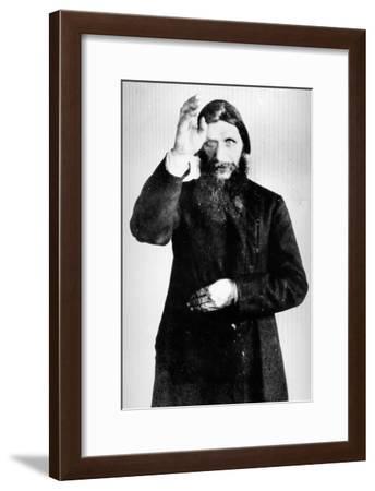 Portrait of Rasputin, 1900-16--Framed Photographic Print